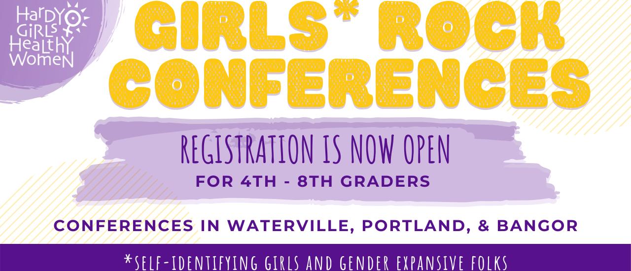 Girls Rock! 2020 Conferences